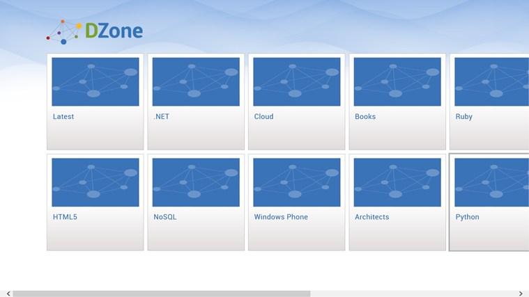 DZone screen shot 2