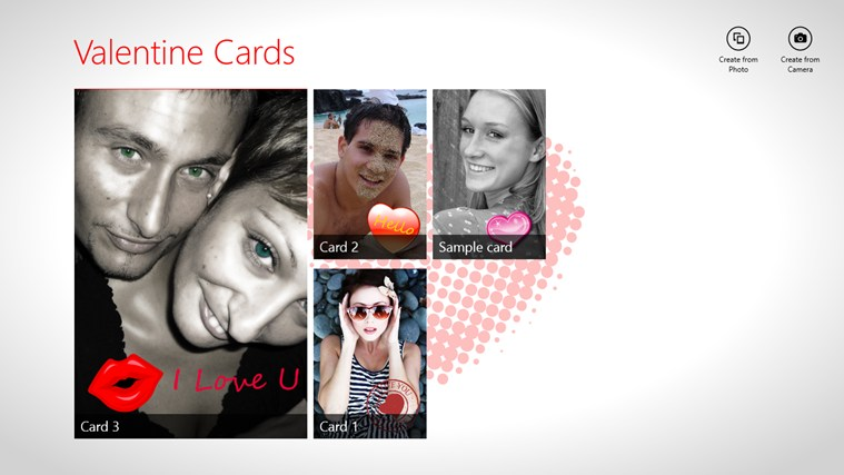 Valentine Cards screen shot 0