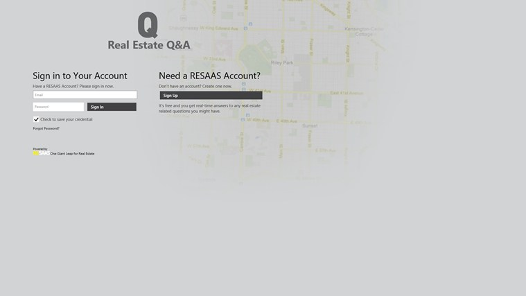 Real Estate Q&A screen shot 0