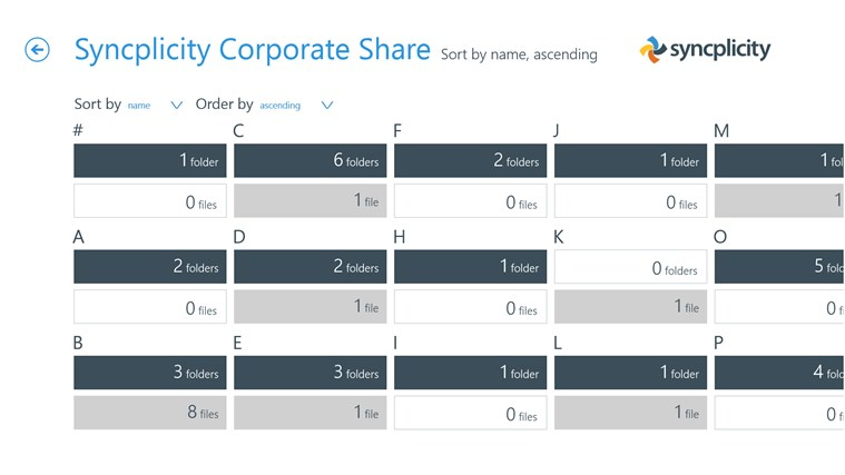 Syncplicity screen shot 2