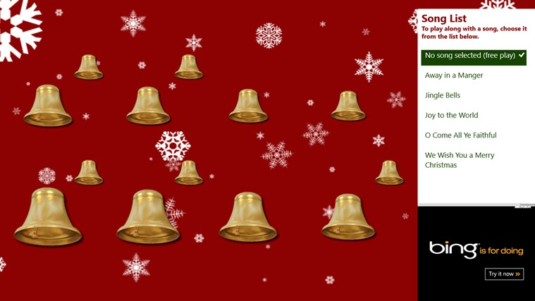 Christmas Bells screen shot 0