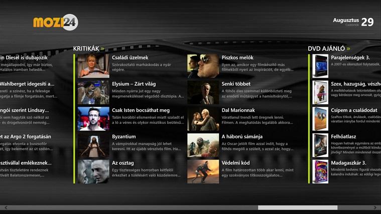 Mozi24 screen shot 4