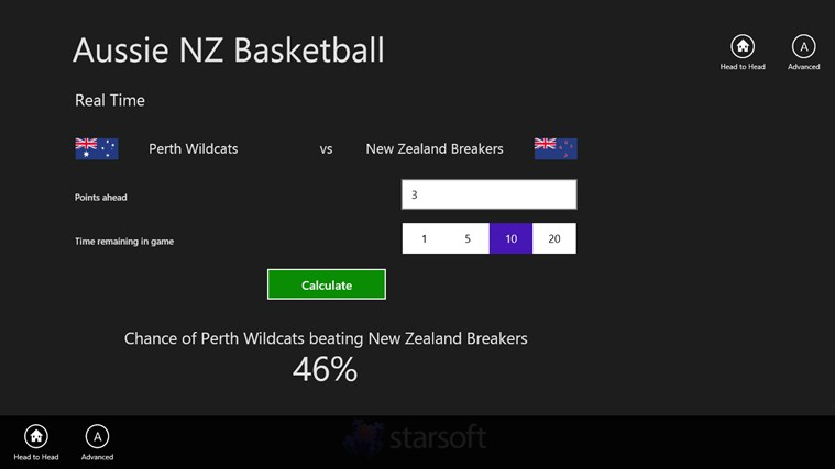 Aussie NZ Basketball screen shot 2