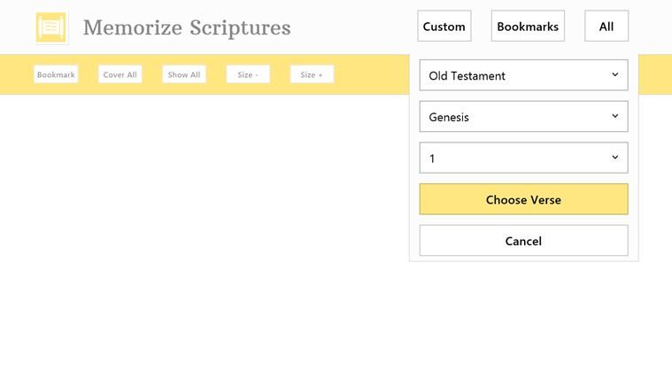 Memorize Scriptures screen shot 0
