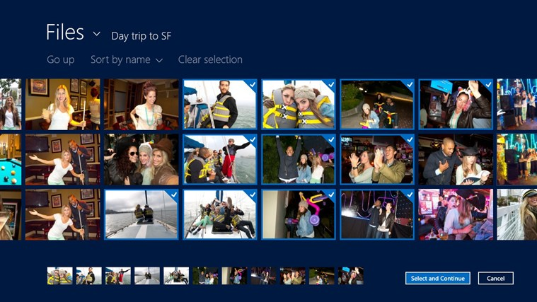 Whip - social photo album screen shot 2