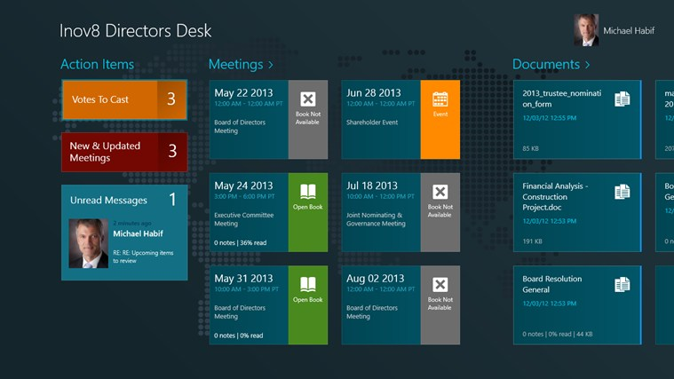 Directors Desk Windows 8 Edition screen shot 0