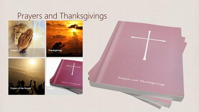 Prayers and Thanksgivings screen shot 0