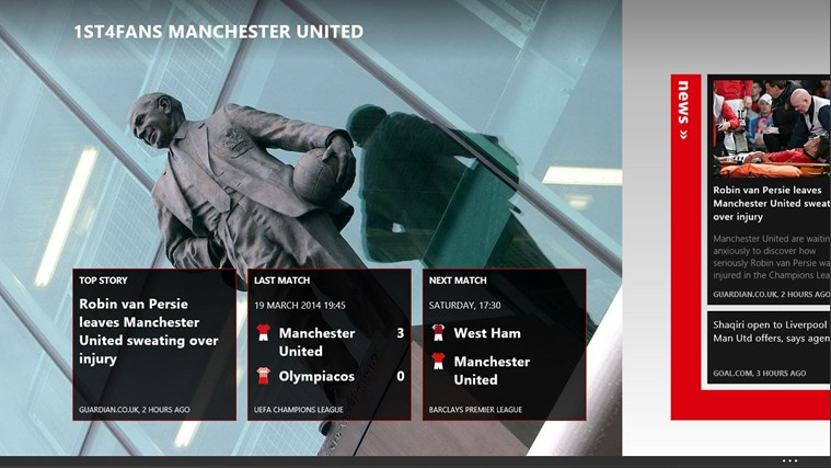 1st4Fans Manchester United edition screen shot 0