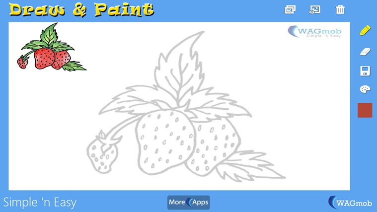 Draw Paint For Kids By Wagmob App For Windows In The