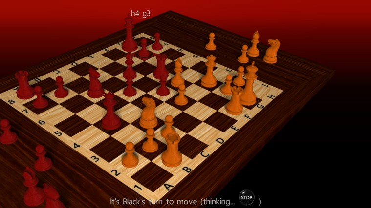 3D Chess Game screen shot 2