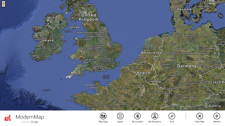 ModernMap screen shot 4