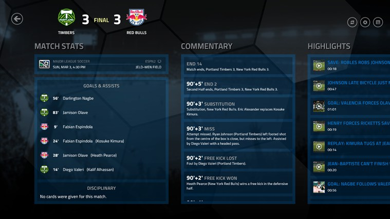 MLS MatchDay screen shot 0