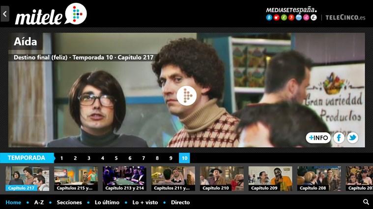 MiTele captura de pantalla 4
