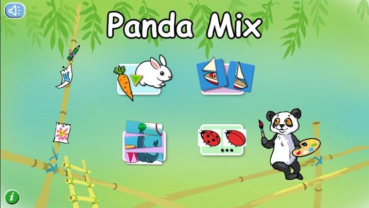 Panda Mix-skärmbild 0
