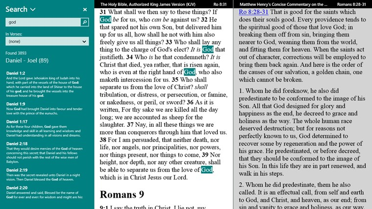 PocketBible Bible Study App screen shot 2