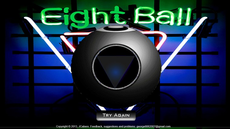 black ball app screen shot 0