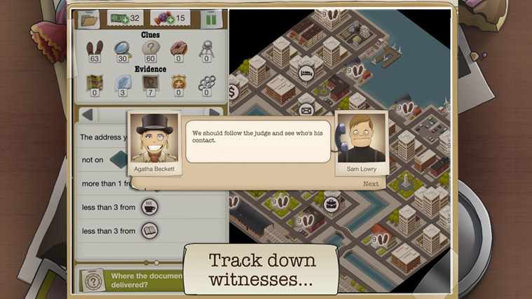 Another Case Solved screen shot 2