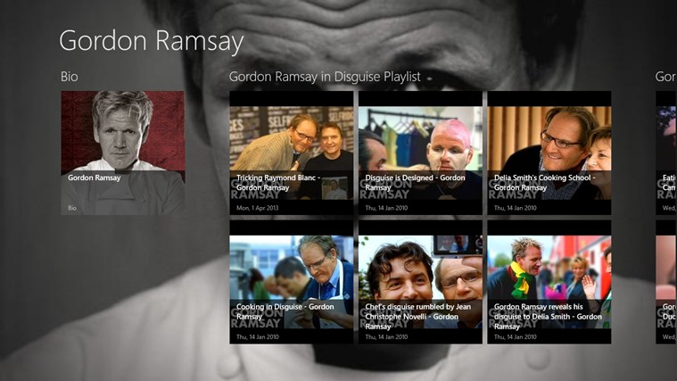 Gordon Ramsay screen shot 0