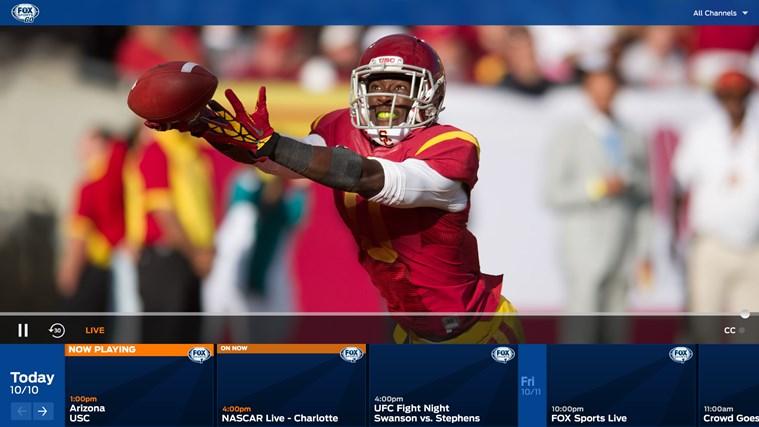 FOX Sports GO screen shot 0