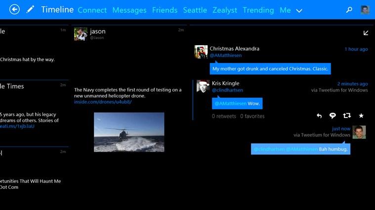 Tweetium screen shot 2