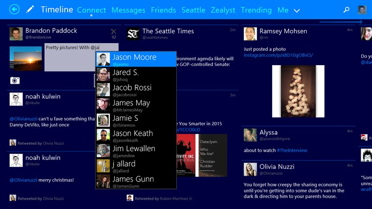 Tweetium screen shot 6