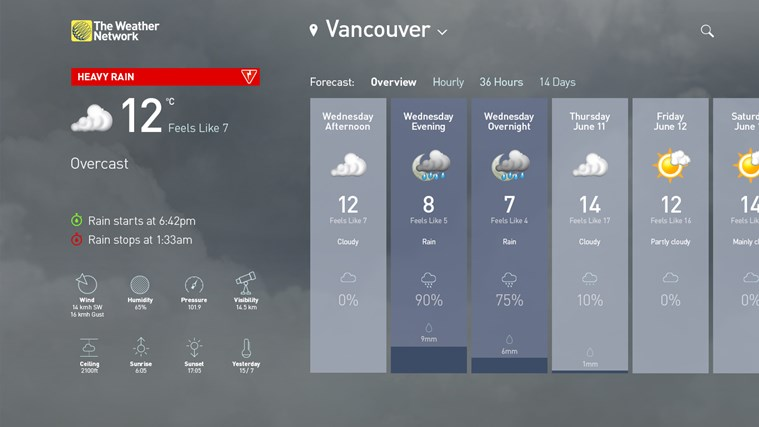 The Weather Network screen shot 0