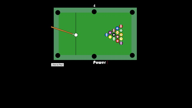 pool game screen shot 0