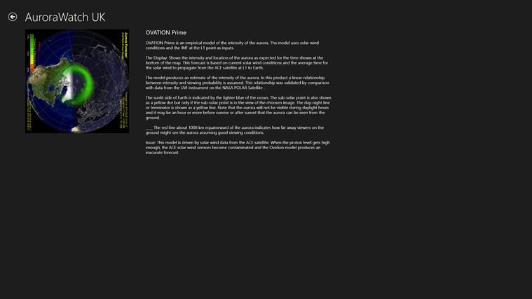 AuroraWatch UK screen shot 4