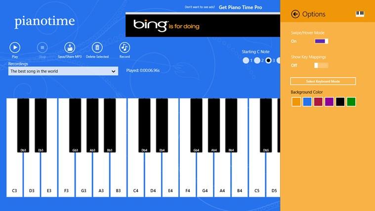 Piano Time snímek obrazovky 4