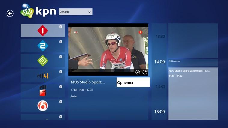 KPN iTV Online schermafbeelding 0