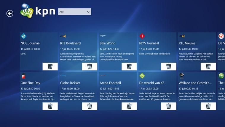 KPN iTV Online schermafbeelding 4