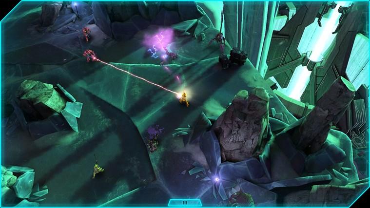 Halo: Spartan Assault schermafbeelding 2