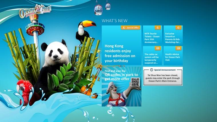 Ocean Park Hong Kong 螢幕擷取畫面 0