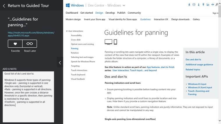 Microsoft Press Guided Tours screen shot 4