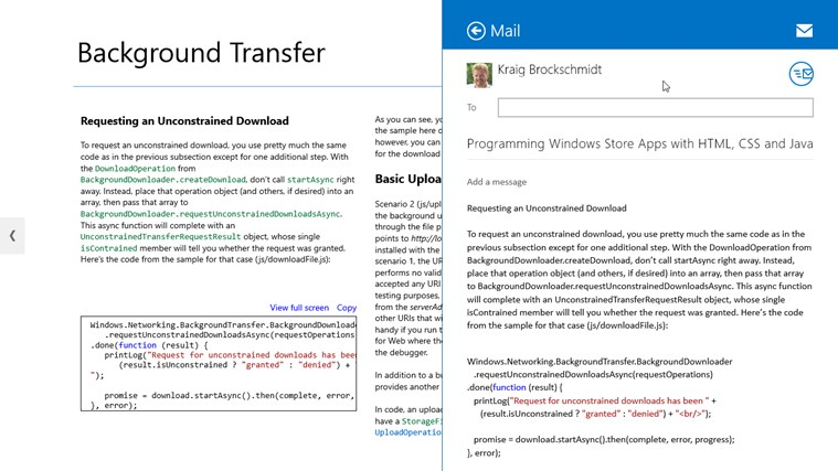 Microsoft Press Guided Tours screen shot 6
