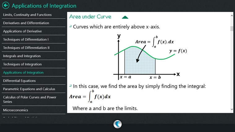 Calculus By WAGmob for Windows 8