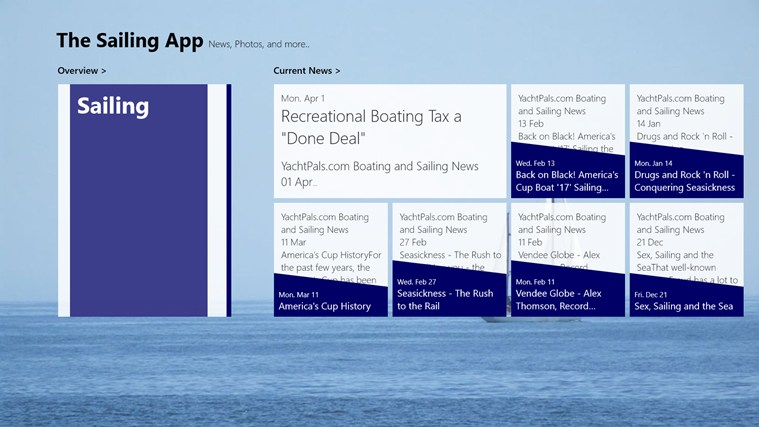 The Sailing App screen shot 0