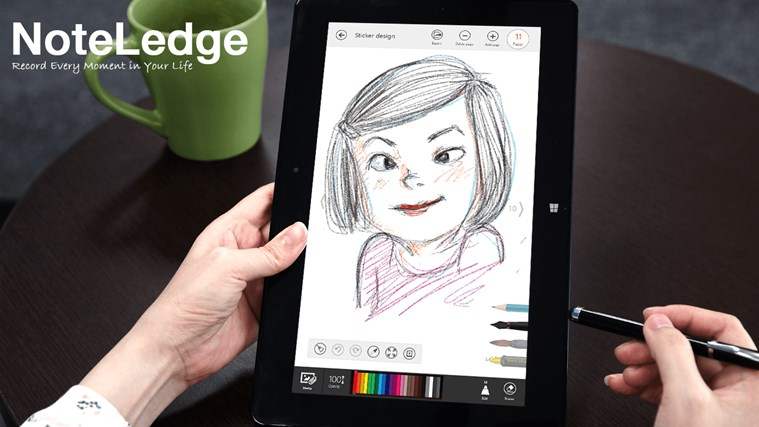 NoteLedge - Note, Sketch, Audio & Video screen shot 0