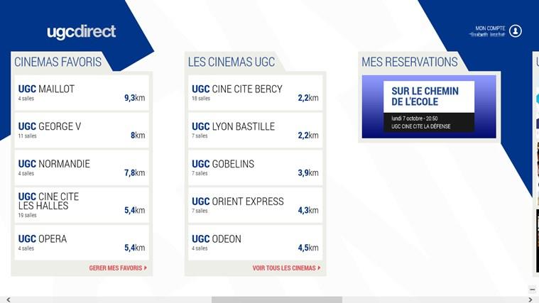 UGC direct capture d'écran 6