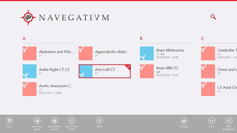 Navegatium DICOM Viewer screen shot 2