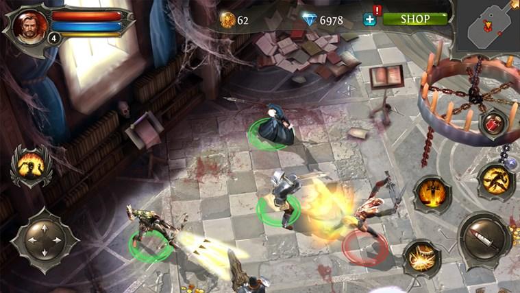 Dungeon Hunter 4 screen shot 2