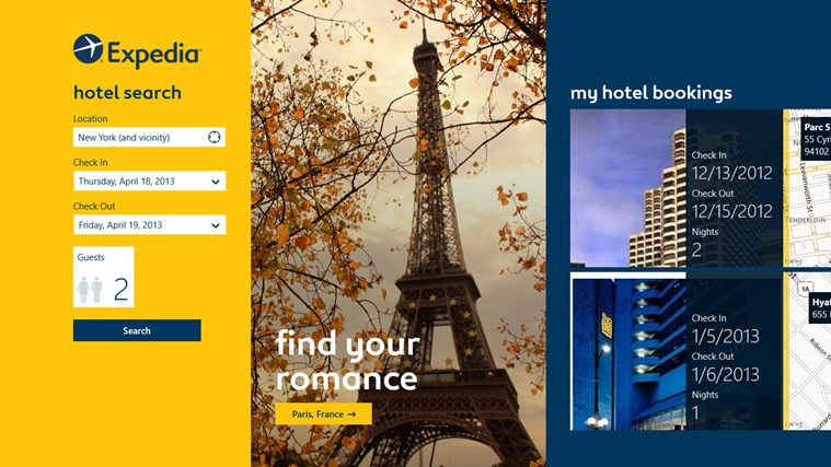 Expedia screen shot 0