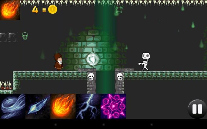 The Wandering Wizard screen shot 0