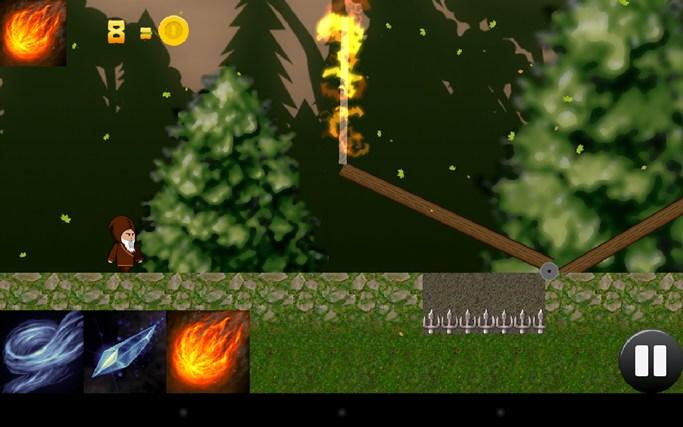 The Wandering Wizard screen shot 2