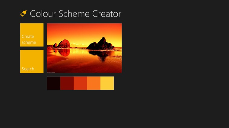 Color Scheme Creator screen shot 0