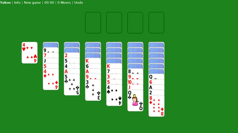 yukon solitaire how to play