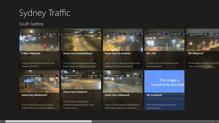 Sydney Traffic screen shot 0