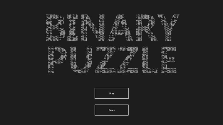Binary Puzzle screen shot 0