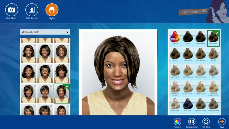 Hairstyle PRO screen shot 4