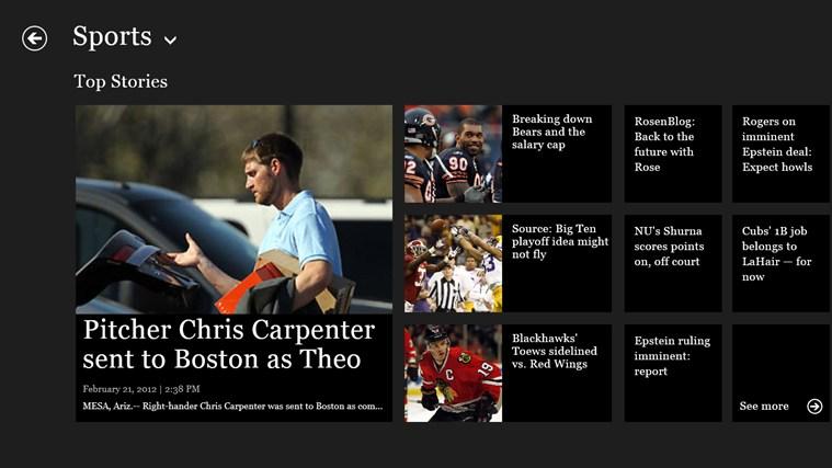 Chicago Tribune screen shot 6